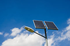 Renewable solar energy. Stock Photo