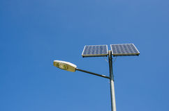 Renewable solar energy. Royalty Free Stock Photo