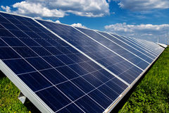 Renewable solar energy Stock Photo
