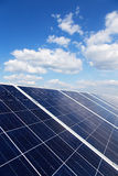 Renewable solar energy Royalty Free Stock Image