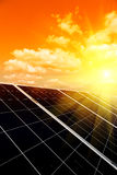 Renewable solar energy Stock Photos