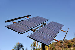 Renewable Solar Power Energy Panel Royalty Free Stock Photos