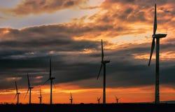 Renewable Wind Energy Royalty Free Stock Photos