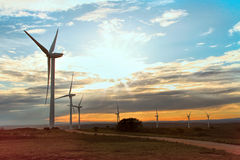 Renewable Wind Energy Royalty Free Stock Photos