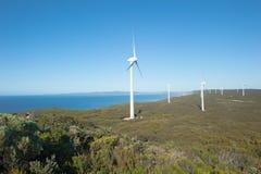 Renewable Wind Energy Western Australia Stock Image
