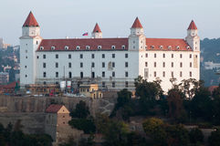 Renewed Bratislava castle, Slovakia Royalty Free Stock Image