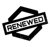 Renewed rubber stamp Royalty Free Stock Image