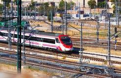 Renfe train stock photos