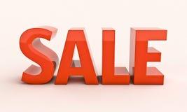 Renfer de la venta 3d Foto de archivo libre de regalías