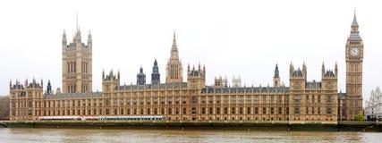 renferme le parlement de Londres Images stock