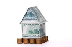 renfermez l'argent Image stock