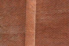 Renfermez le mur de briques Photos stock