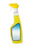 rengörande främre spray royaltyfri foto