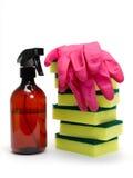rengörande miljöprodukter Arkivbilder