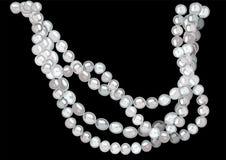 rengöringsduk för pärla för daggmorgonhalsband Royaltyfria Bilder