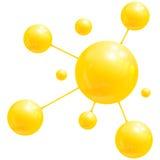 rengöringsdukdesign för Spheres 3D Arkivfoton