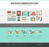 Rengöringsdukmall för grafisk formgivare royaltyfri illustrationer
