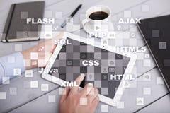 Rengöringsdukutveckling programmering Internet- och teknologibegrepp fotografering för bildbyråer