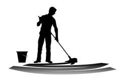 rengöringsmedel stock illustrationer