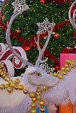 Rengarnering för jul arkivfoto