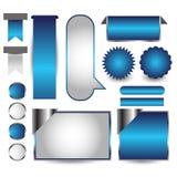 Rengöringsdukanvändargränssnittbeståndsdel vektor Arkivfoto