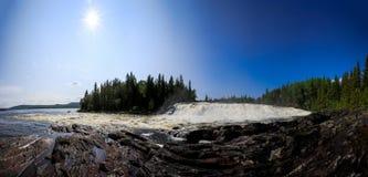Rengsfallet vattenfall Royaltyfri Fotografi