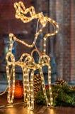 Reniferowa dekoracja Zdjęcia Stock