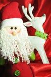 reniferowy Santa Fotografia Royalty Free