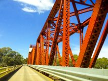 Renmark/Paringa bridge Royalty Free Stock Photos