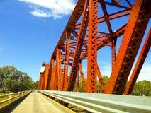 Renmark/Paringa bridge Royalty Free Stock Photos