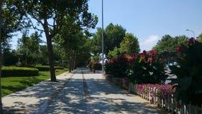Renmin road beautiful walkways Royalty Free Stock Photos