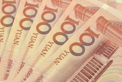 Renminbi royalty-vrije stock foto's