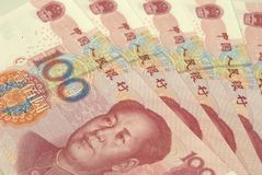 Renminbi Stock Afbeelding