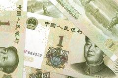 Renminbi bakgrund Arkivbilder
