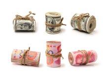 Renminbi & u S Доллар Стоковое Фото