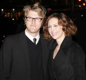 Renn Hawkey and Vera Farmiga Stock Images