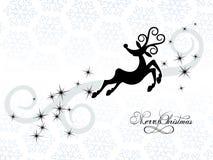 Renna di Natale illustrazione vettoriale