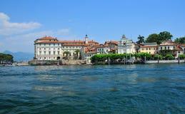 Rennaissance palace on an italian island Royalty Free Stock Photo
