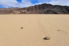 Rennbahn in Death Valley Lizenzfreies Stockbild