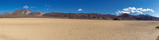 Rennbahn Playa, Death Valley Natio Stockfotografie