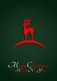 Renne de Noël Photos libres de droits
