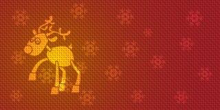 Renne de Noël de vecteur illustration de vecteur
