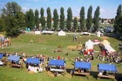 Renneissance mässa i Koprivnica, Kroatien Royaltyfri Fotografi