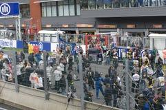Rennen-Badekurort Francorchamps der Formel-1 stockfotografie