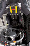 Rennen-Cockpit Stockfoto