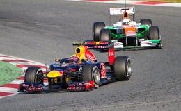 Rennen der Formel 1 stockfotos