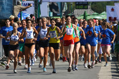 Rennen der Frauen Lizenzfreie Stockfotos