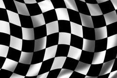 Rennen-Markierungsfahne Lizenzfreie Stockfotos