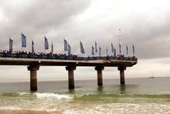 Rennen Port- ElizabethIronman lizenzfreie stockfotografie