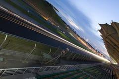 Rennen-Spur Stockfotos